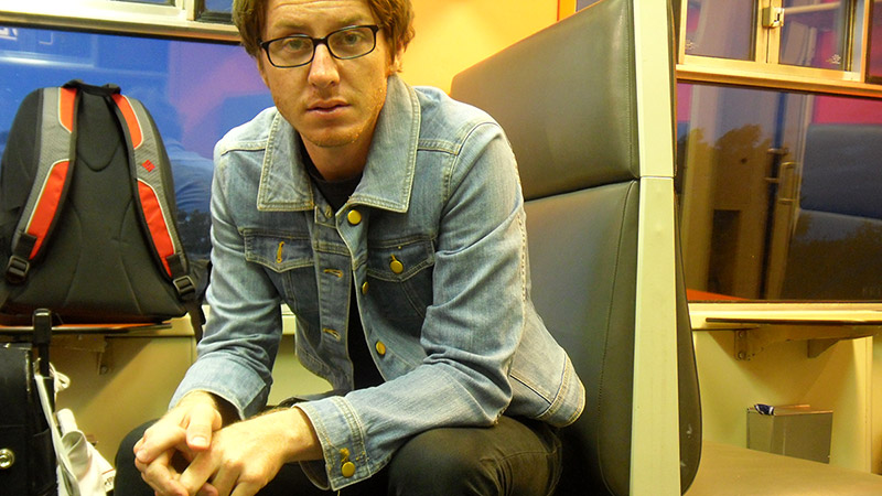 Photo of a loser in a bad denim jacket
